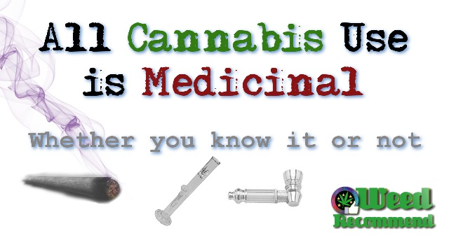 """All Cannabis Use is Medicinal"" Whether You Know it Or Not"