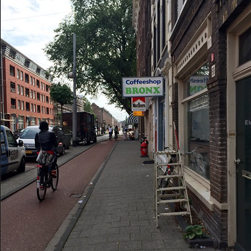Bronx Coffeeshop Amsterdam - Weed Recommend
