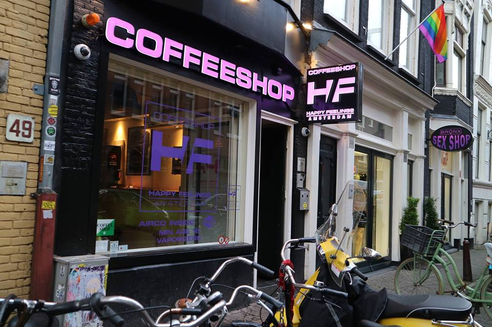 Happy Feelings Coffeeshop Amsterdam - Weed Recommend