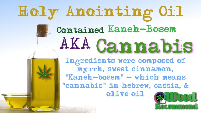 Kaneh Bosm: Hidden Ancient History – Cannabis, Holy Anointing Oil & The Old Testament