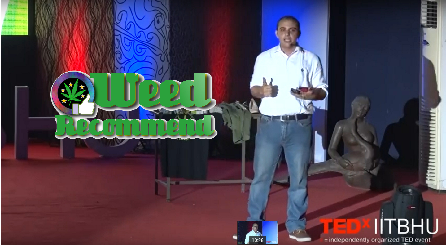 Jahan Peston Jamas TEDx Cannabis