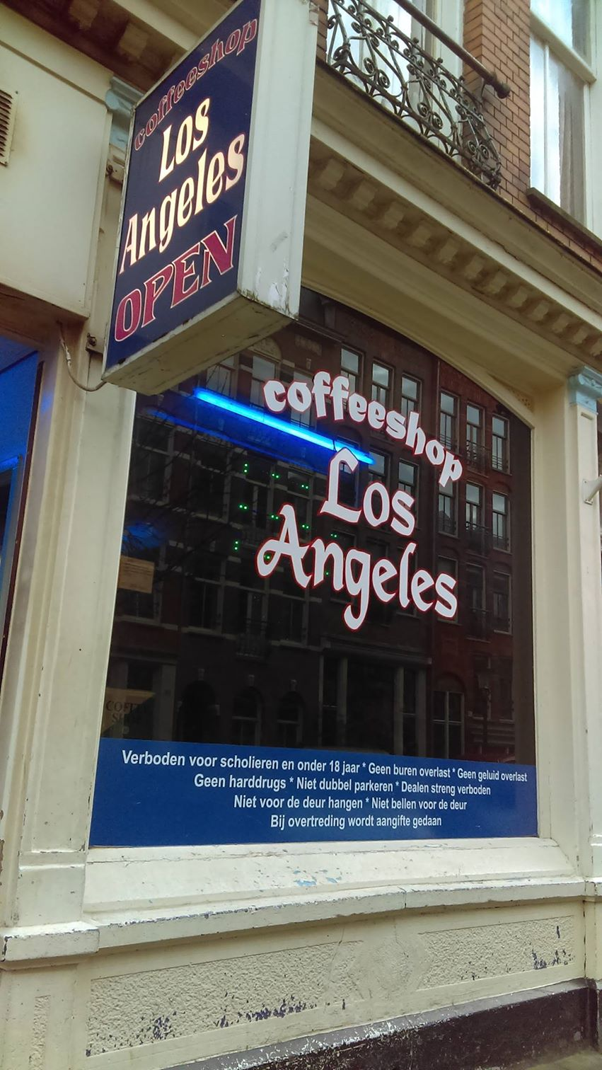 Los Angeles Coffeeshop Amsterdam - Weed Recommend