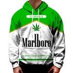MARLBORO CANNABIS Hoodie - Weed Recommend
