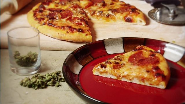 Happy Pizza Recipe (as in weed pizza recipe)