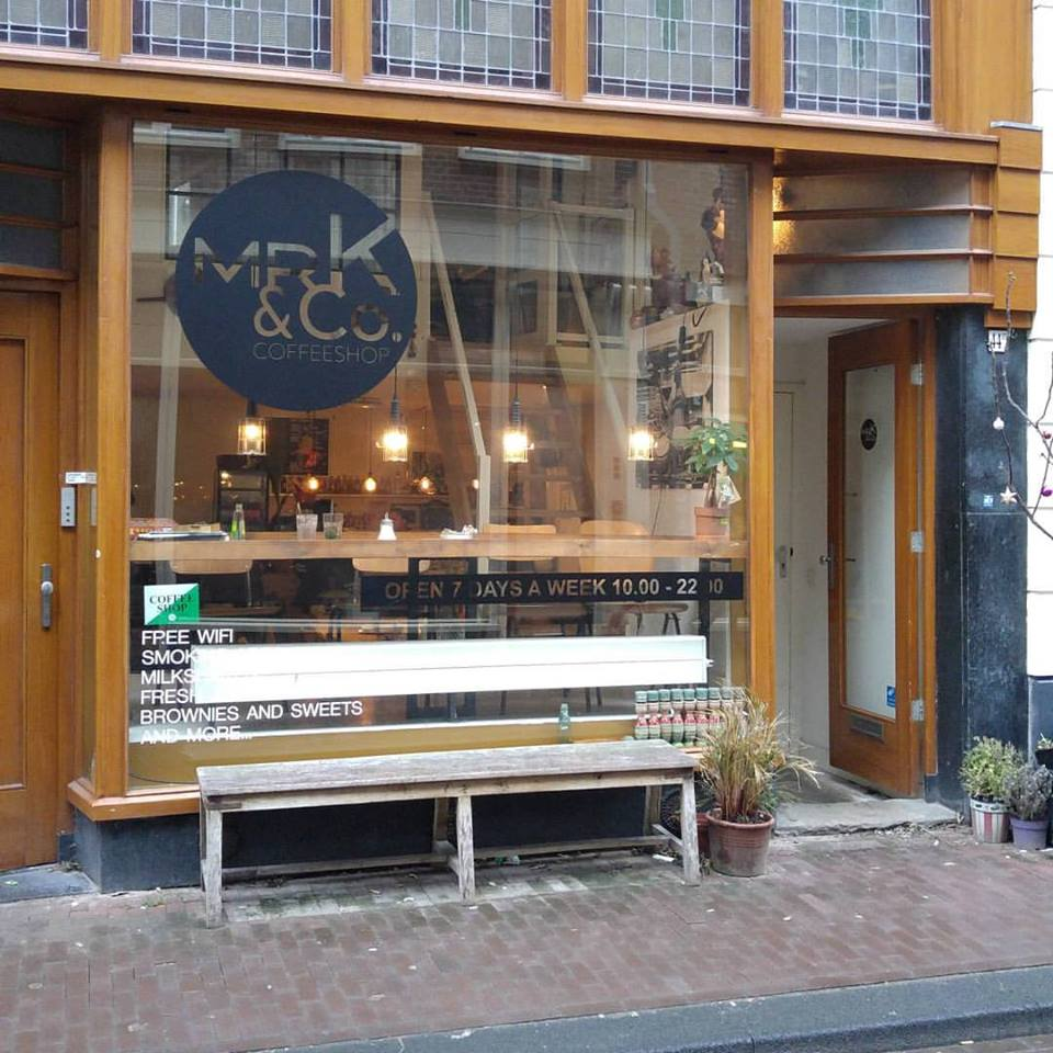 Mr K & Co Coffeeshop Amsterdam - Weed Recommend