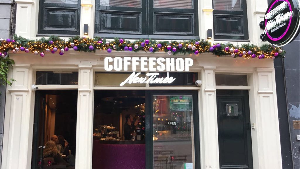 New Times Coffeeshop Amsterdam - Weed Recommend