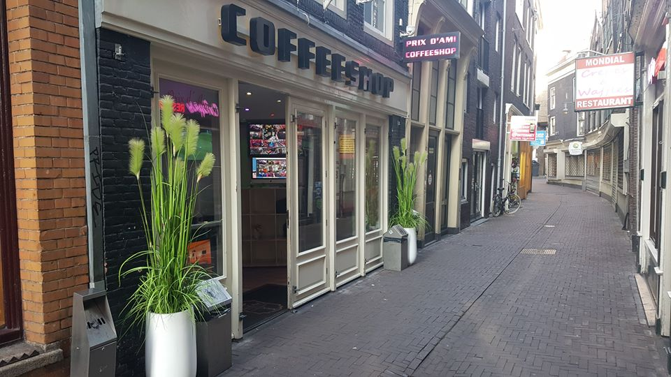 Prix d'Ami Coffeeshop Amsterdam - Weed Recommend