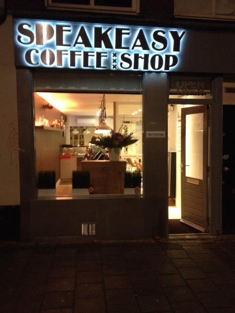 Speak Easy Coffeeshop - Weed-Recommend