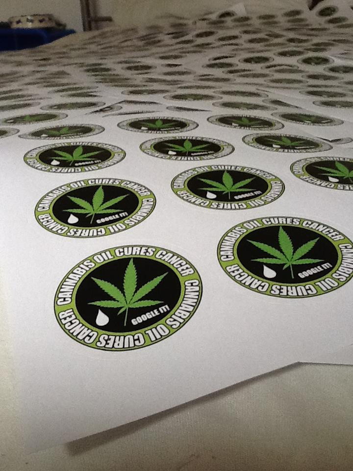 Cannabis Activism Poster & Sticker Templates