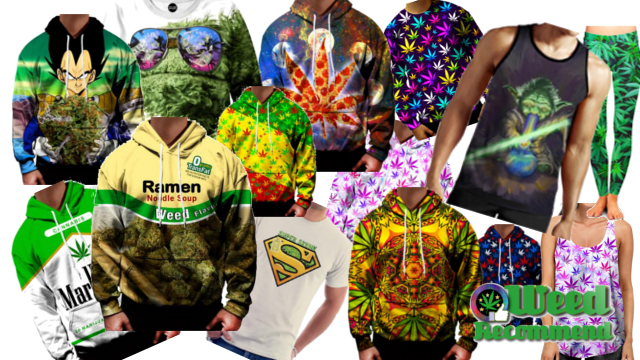 Clothing: Check Out These Weed Hoodies, Tees, Tanks, Shorts & More