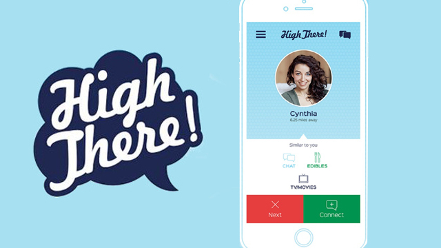 High There! App Is The Tinder For Cannabis Users