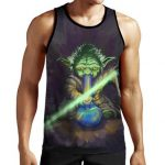 Yoda Bong tank top - Weed Recommend