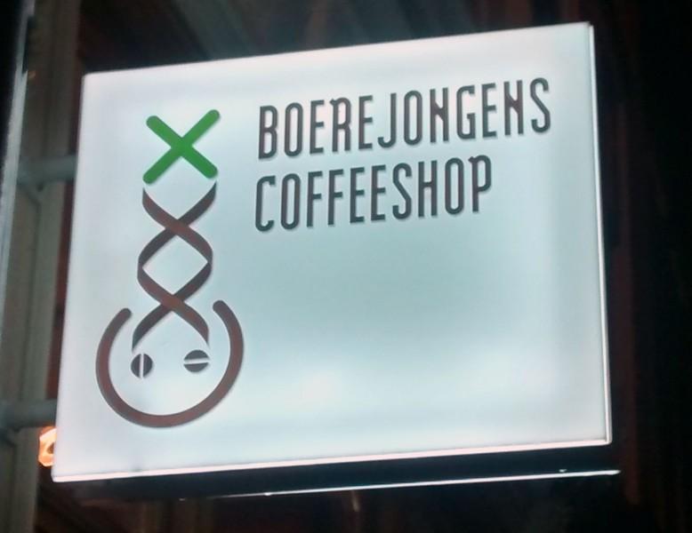Boerejongens BIJ Coffeeshop Amsterdam