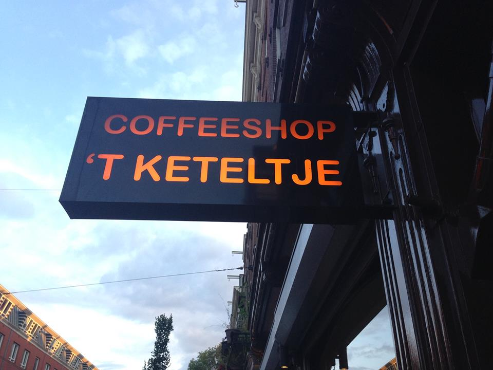 't Keteltje Coffeeshop Amsterdam - Weed Recommend